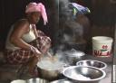 Préparation du repas dans une famille diola 2