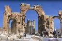 Palmyre : Arc de Septime Sévère