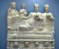 Palmyre : sarcophage