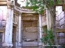 Vue intérieure du temple de Baalshamin.