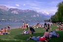 Activités d'été sur les lacs