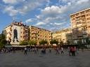 Au centre de Pristina