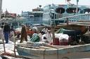 Les boutres dans le port de Deira